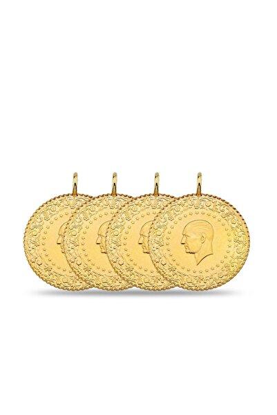 Maygold Eski 4 Adet Çeyrek Altın