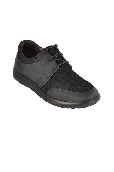 Esse Erkek Siyah Günlük Hakiki Deri Ayakkabı 28685