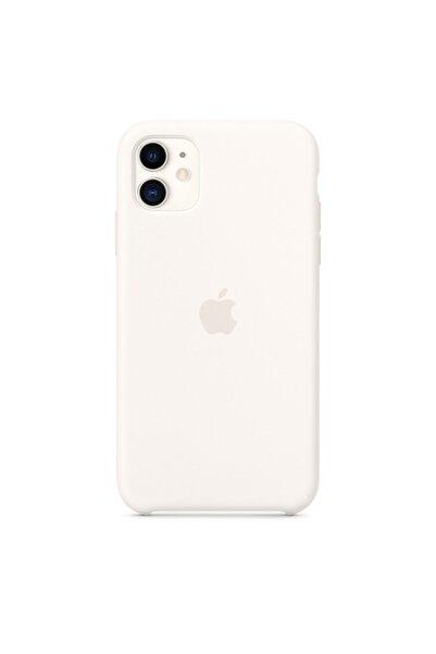 BySarsa Beyaz Iphone 11 Uyumlu  Silikon Kılıf