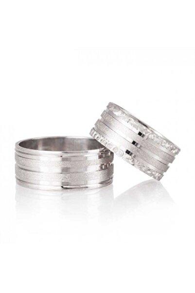Gümüşcüm Yağmur Gümüş Alyans Modeli Bayan Nişan Yüzüğü