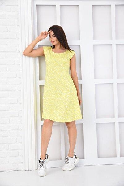 LUSUTANO Kadın Sarı Elbise