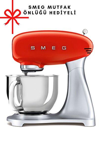 SMEG Kırmızı Stand Mikseri Smf01rdeu