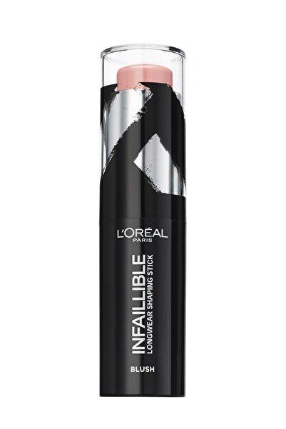 L'Oreal Paris Infaillible Shaping Stick Sexy Flush Allık 001 3600523532933