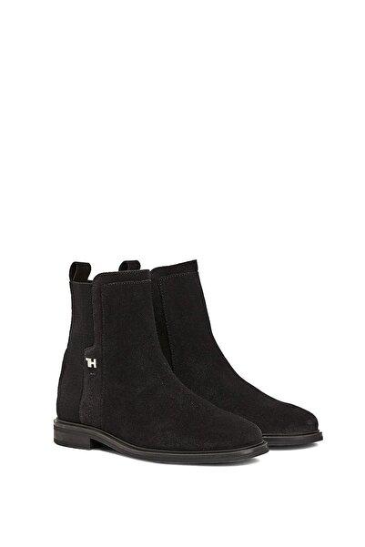 Tommy Hilfiger Kadın Essential Flat Boot Kadın Botu Fw0fw05193