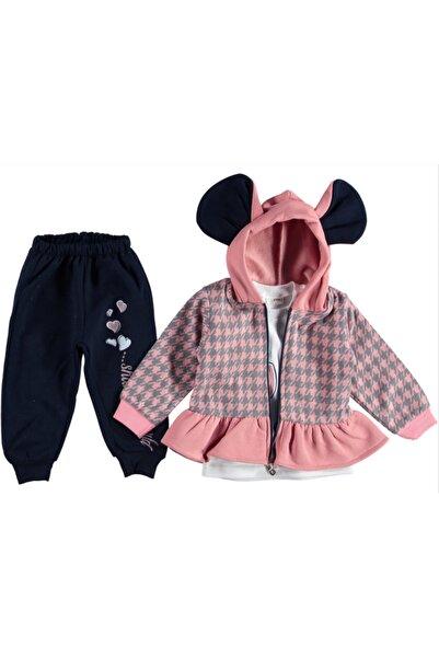 DDG Collection Kazayağı 3'lü Kız Bebek Takım (9-12-18ay)