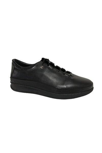 Cacharel Ayakkabı Erkek Siyah Günlük Ayakkabı