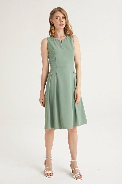 Chima Kırmalı Elbise