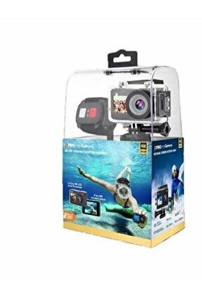 My Camera Pmc-07 4k Çift Ekranlı Aksiyon Kamera