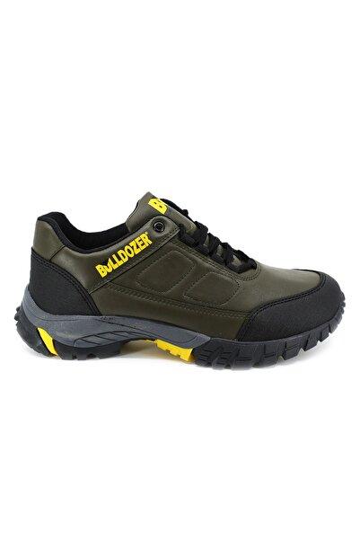 Bulldozer 210421 Hakı Sarı Erkek Treakıng Ayakkabı