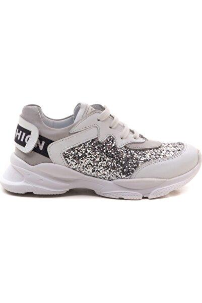 Perlina Kız Çocuk Beyaz Ayakkabı