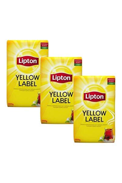Lipton Yellow Label Dökme Çay 1000 gr X 3 Adet