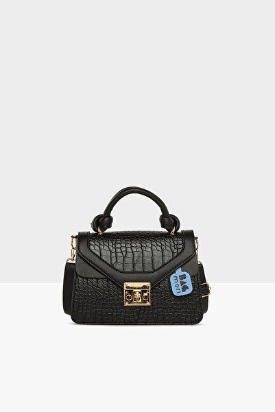 Bagmori Kadın Bağlama Askılı Mini Kutu Çanta M000005452