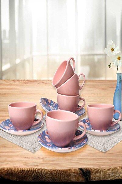 Keramika Kuzu Çay Takımı  12 Parça 6 Kişilik - 17913