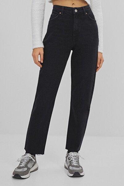 Bershka Kadın Siyah Slim Fit Jean