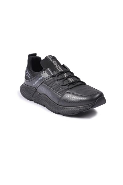 Slazenger Erkek Zafira Siyah-siyah Spor Ayakkabı