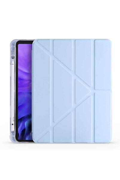 zore Samsung Galaxy Tab S6lite P610 Tablet Kılıfı 2 Farklı Stand Şekli Kalem Taşıma Bölmesi