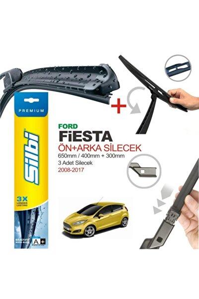 silbi Ford Fiesta Ön Ve Arka Silecek Takımı 2009-2017