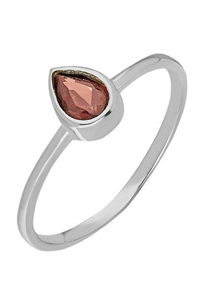 Chavin Gümüş Taşlı Kadın Yüzük Mini Eklem Yüzüğü Ed81by