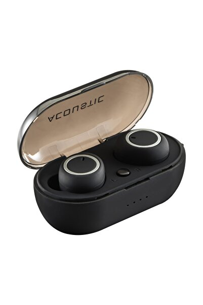 MF PRODUCT Acoustic 0137 Kablosuz Kulak Içi Bt 5.0 Bluetooth Tws Kulaklık Siyah
