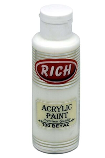 Rich Akrilik Boya 120 Cc Beyaz