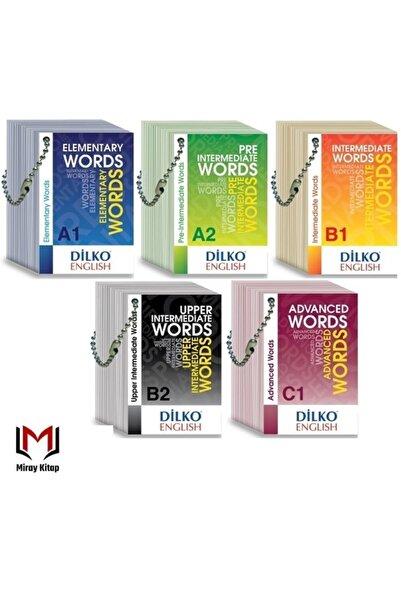 Dilko Yayıncılık Kelime Kartları A1-a2-b1-b2-c1