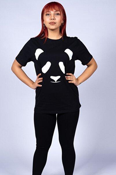WAWA Kadın Siyah T-Shirt