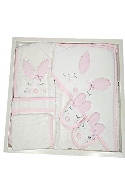 Gaye Bebe Bebek Bornoz Takımı Tavşanlı 4 Parça 0-2 Yaş