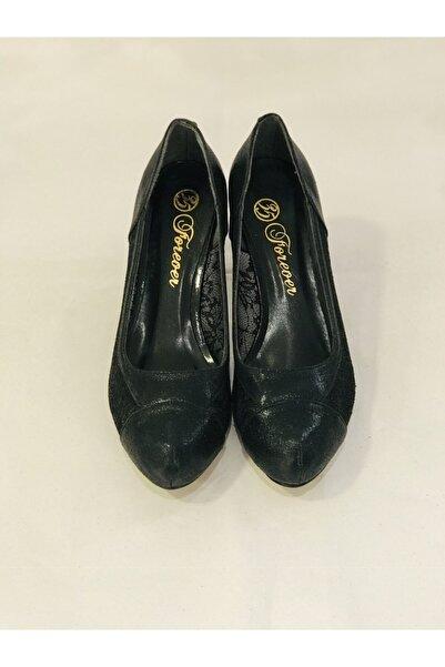Forever Kadın Siyah Ayakkabı