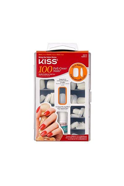 Kiss Renksiz Takma Tırnak Seti Ypıştırıcılı 100'lü Paket - 100ps14c - 731509200195