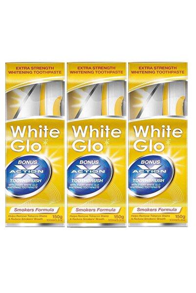 White Glo Diş Beyazlatıcı Diş Macunu Avantaj Paket X 3 Adet