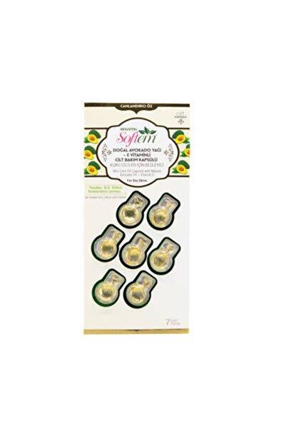 Aksu Vital Doğal Avokado Yağı + E Vitaminli Cilt Bakım Kapsülü