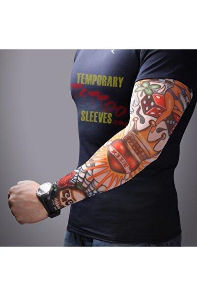Moda Karagöz Giyilen Dövme Tatto Sleeves