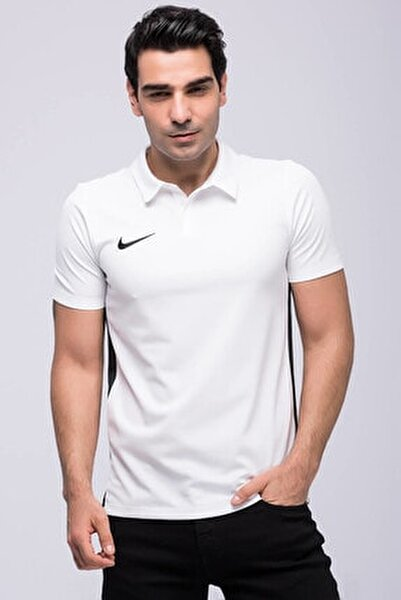 Erkek Beyaz Dry Academy 18 Ss Polo T-shirt 899984-100