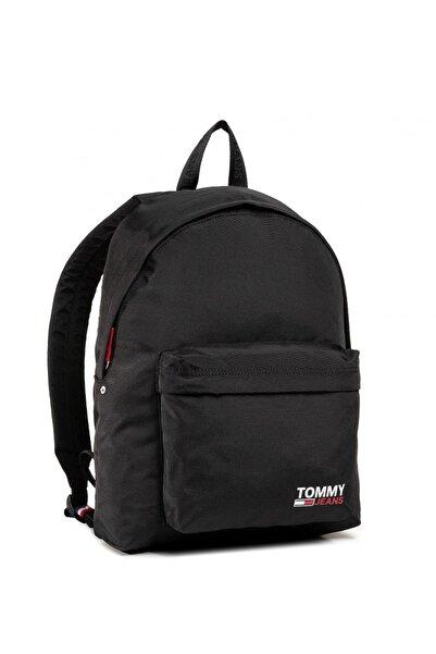 Tommy Hilfiger Unisex Siyah Tjm Campus Boy Backpacksırt Çantası