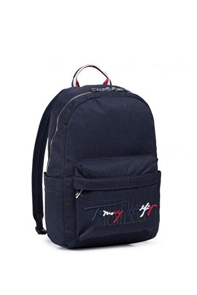 Tommy Hilfiger Erkek Th Signature Backpack Erkek Sırt Çantası Am0am06709