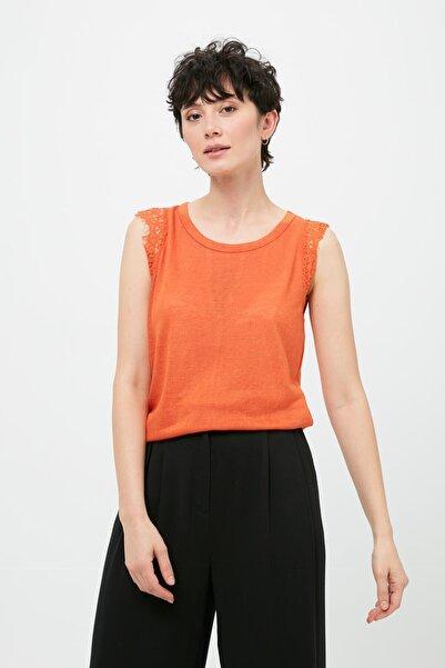 İpekyol Kadın Turuncu Bluz