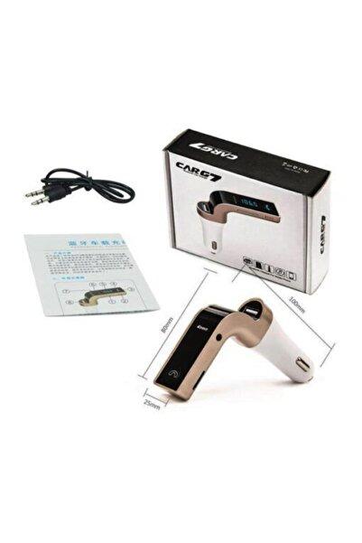 CARG7 Cargg7 Bluetooth 4.0 Araç Kiti Çakmaklık Mp3 Fm Transmitter