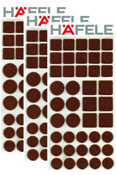 Hafele Protector - Zemin Koruyucu Keçe - Kendinden Yapışkanlı - 126 Parça
