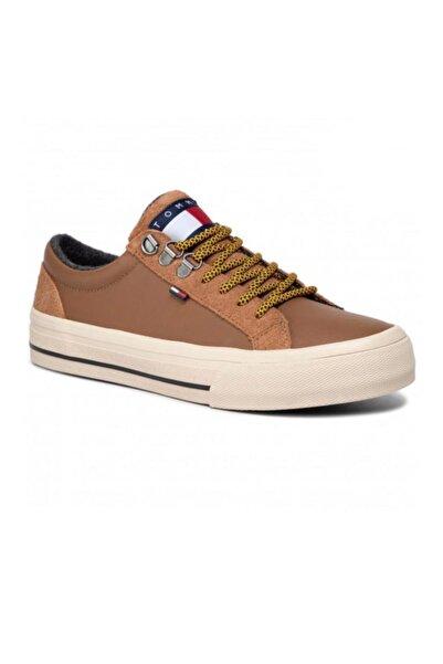 Tommy Hilfiger Warmlıned Classıc Lowtop Sneakers