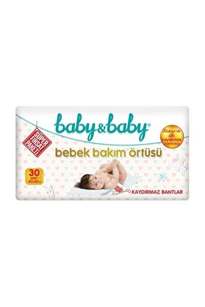 Baby&Baby Baby & Baby Bebek Bakım Örtüsü Alt Açma Bezi 30'lu Paket