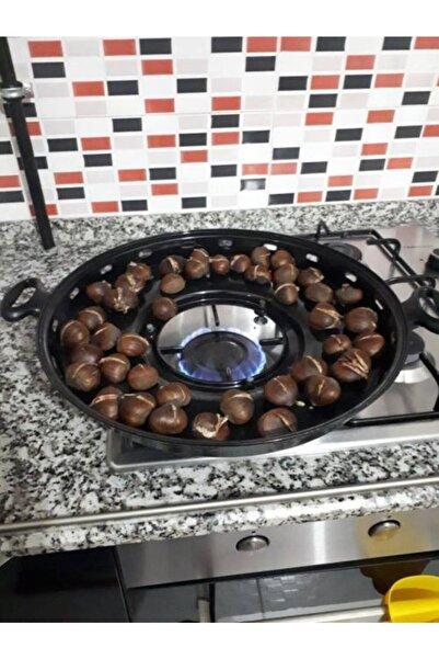 BAZLAMATİK - Ocak Üstü Saç Tava Gözleme Közleme Pişirici 40 Cm.