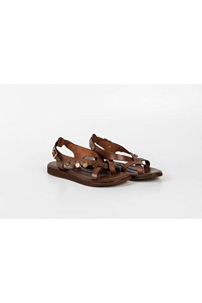 Venüs Kadın Kahverengi Sandalet
