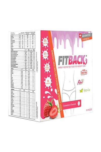 Fitback Çilek 15 Öğün