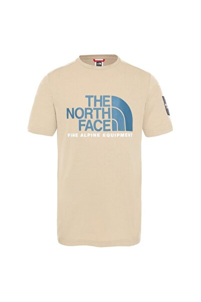 THE NORTH FACE Erkek Bej Ss Fıne Alp Tişört 2 Nf0a4m6nh7e1