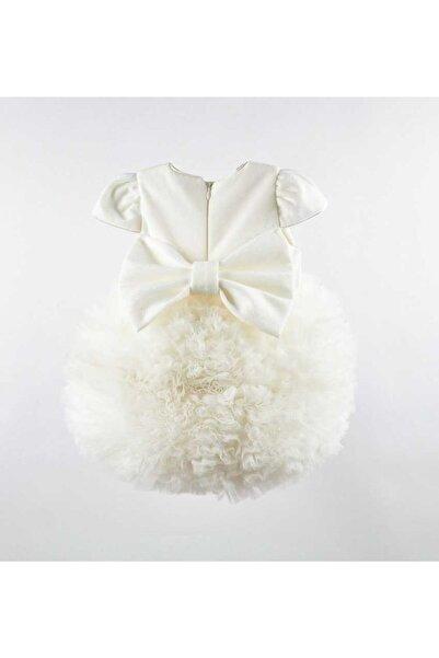 Le Mabelle Beyaz Tütülü Bebek Prenses Elbise - Lina