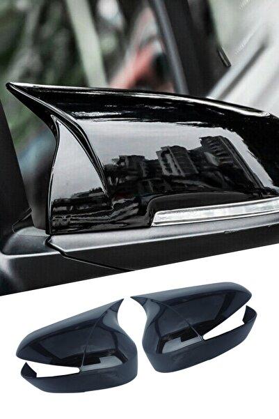 Reyyzen Fiat Linea Batman Ayna Kapağı 2007-2015 Jet Black