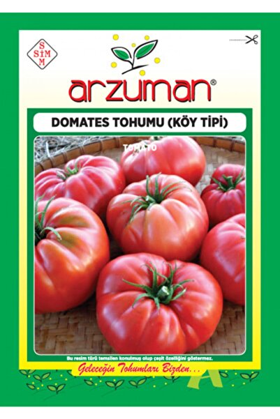 Arzuman Tohum Domates Tohumu Köy Tipi