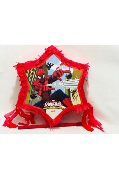 PASTANYA Örümcek Adam Pinyata Sopa Set