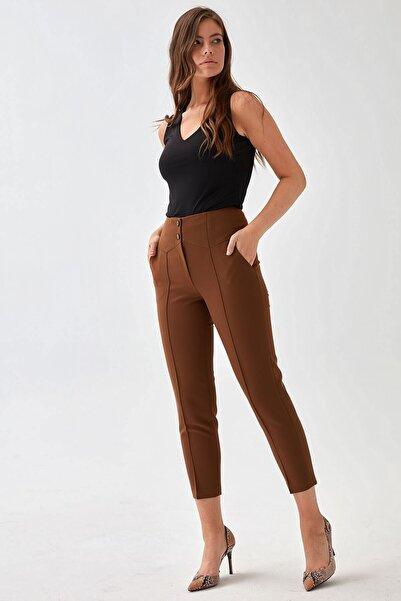 Chima Geniş Kemerli Pantolon