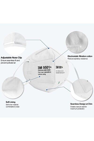 3M 9501v N95 Maske ( 5 Adet )